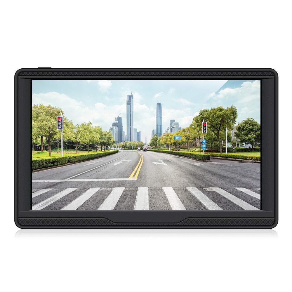7 Zoll 8GB Touchscreen Auto Navi GPS Navigation fü r Auto Enthä lt die Europä ischen Karten und Kostenlose Lifetime Updates.