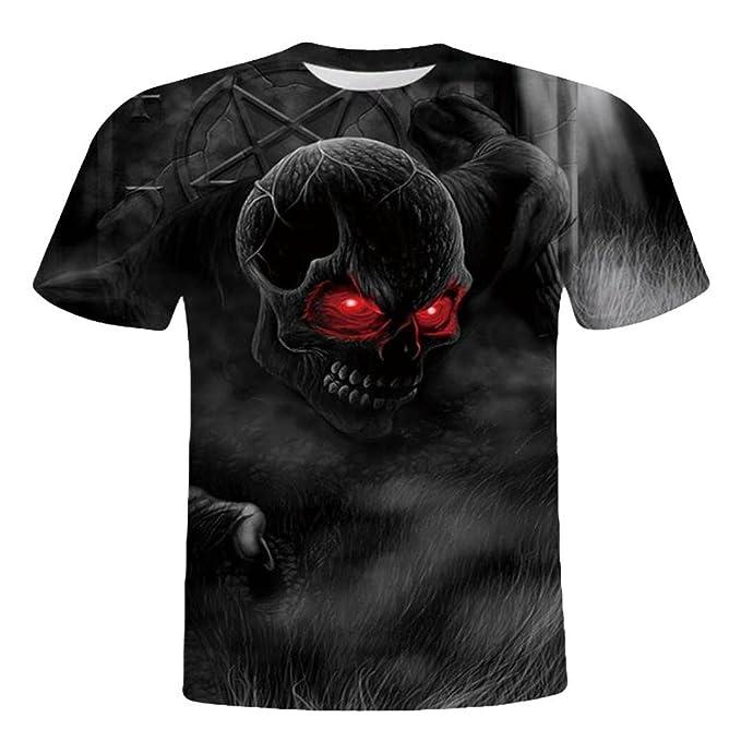 Camiseta para Hombre, Camisas de Hombre Manga Corta, Camisa de Manga Corta de la