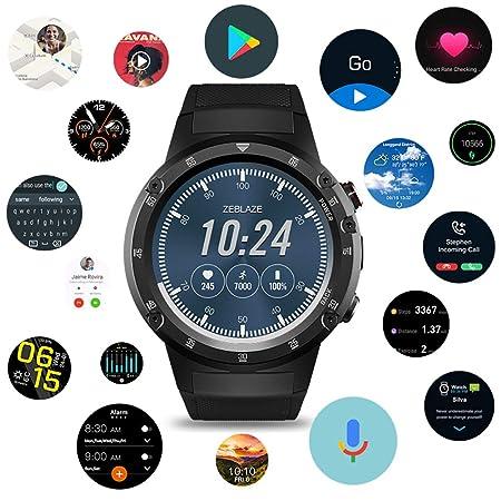 Zeblaze Thor 4 Plus Smartwatch, 4G Reloj Inteligente Android 7.1 Quad Core 1G + 16G con cámara de 5MP Reloj con GPS, Compatible con iOS y Android, ...