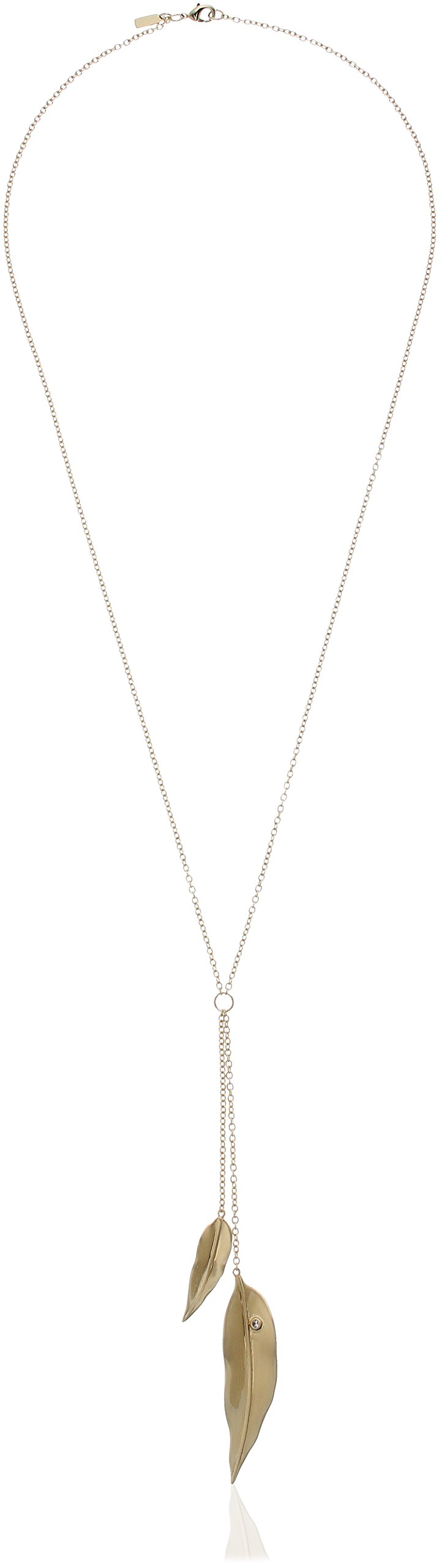 Elizabeth And James Lillia Lariat Y Shaped Necklace, Gold