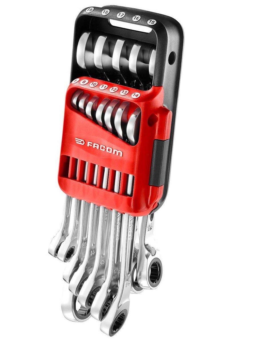 Facom 467B.17 Anti Slip Combination Ratcheting Spanner 17mm FCM467B17