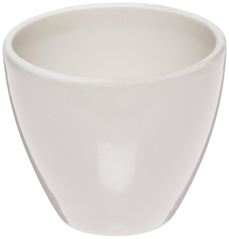 CoorsTek 60104 Porcelain Ceramic High Form Crucible, 10mL Capacity, 31mm OD, 26mm Height (Case of 72)