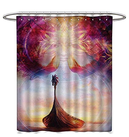 Image Unavailable Not Available For Color Psychedelic Shower Curtains