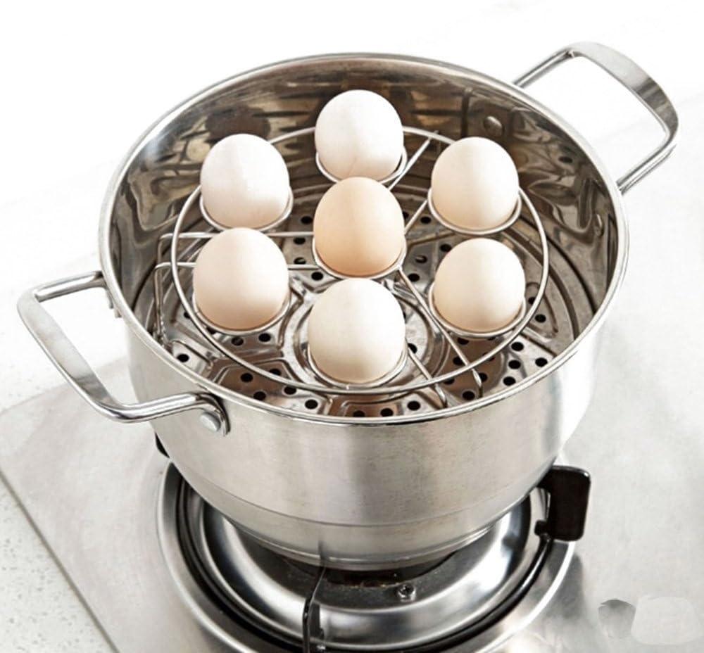 Bossjoy Cesta de bamb/ú para frutas soporte para huevos de verduras soporte para encimeras de cocina cesta de almacenamiento almacenamiento decorativo para el hogar