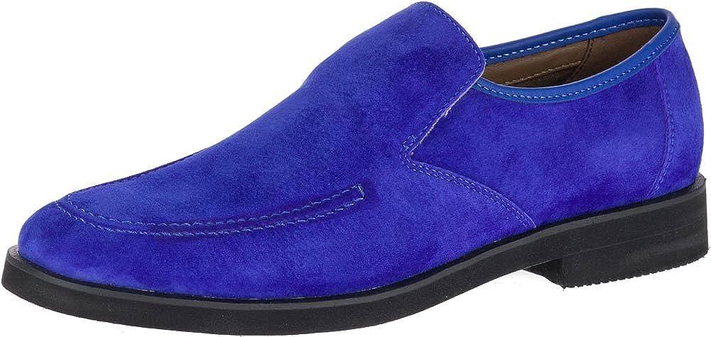 Royal blå mocka Hysch Valpar Mens HM01882 HM01882 HM01882 Bracco Mt Slip på  2018 butik