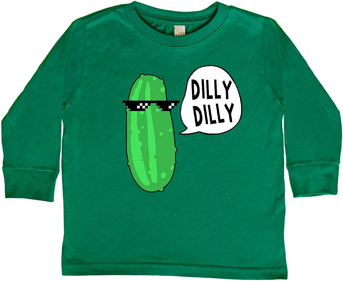 inktastic Dilly Dilly Chill Dill Toddler Long Sleeve T-Shirt