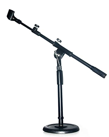 Amazoncom Desk Drum Adjustable MIC BOOM MINI STAND Microphone - Desk boom mic stand
