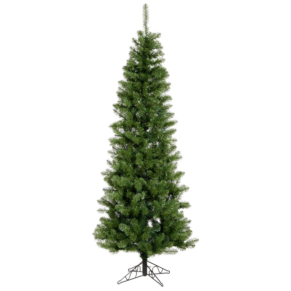 Vickerman 55' Unlit Salem Pencil Pine Artificial Christmas Tree