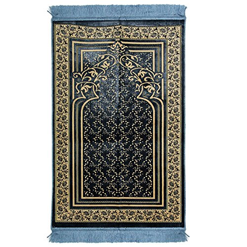 light blue prayer mat - 1