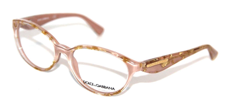 c9eb7164d99 Amazon.com  Dolce   Gabbana DG3173 Eyeglasses-2749 Leaf Gold On  Powder-53mm  Shoes