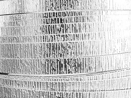 5 Mètres fil aluminium strié argent 2mm Oasis ®