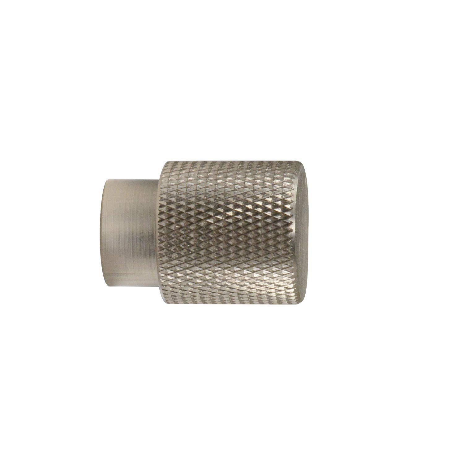 #6500 CKP Brand Linear Aluminum 3/4 in. (20mm) Knurled Knob, Brushed Nickel - 25 Pack by CKP (Image #3)