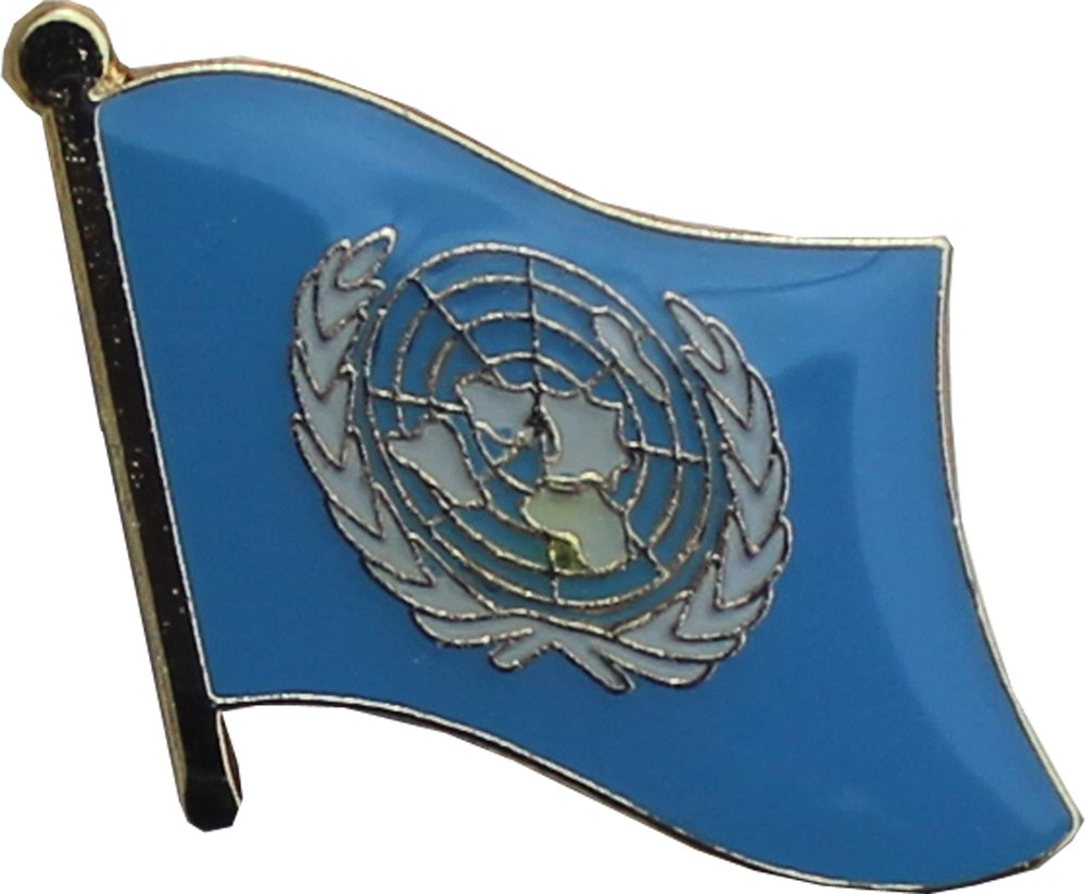 Flagline United Nations - Lapel Pin