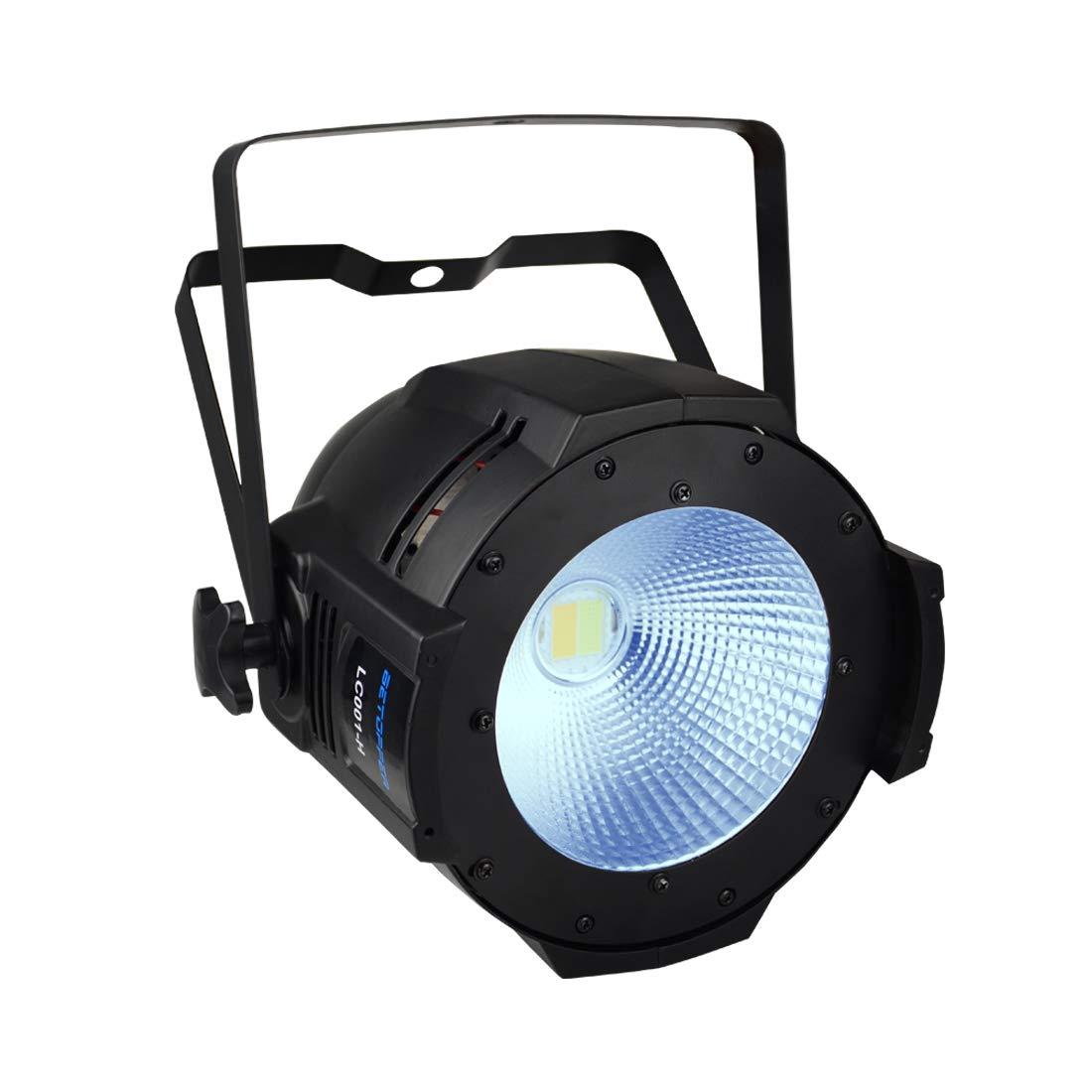 Betopper 100W COB DJ Wash Par Lights Super Bright LED Stage Lighting(One of the Most Professional Kits)