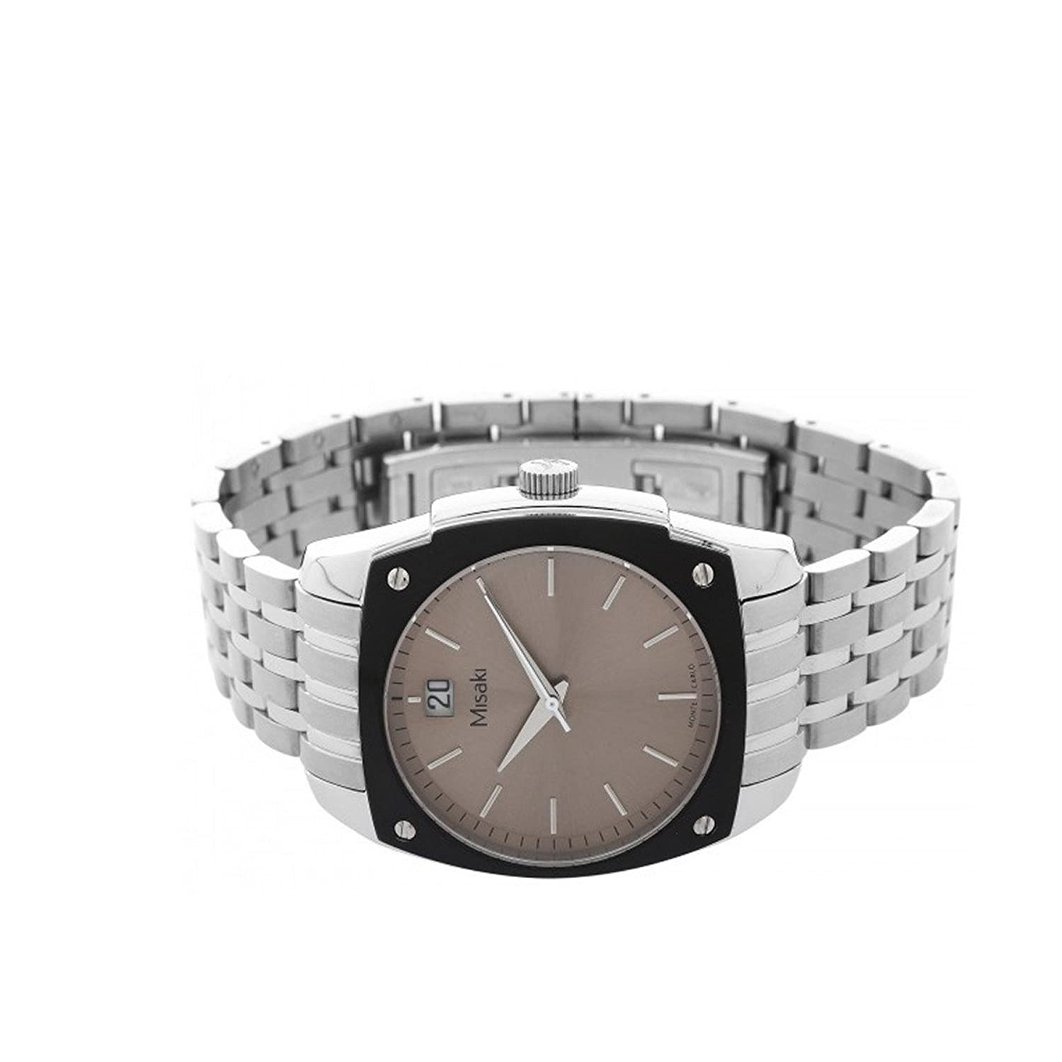 dial selection misaki leather watches white watch calvin ladies silver klein