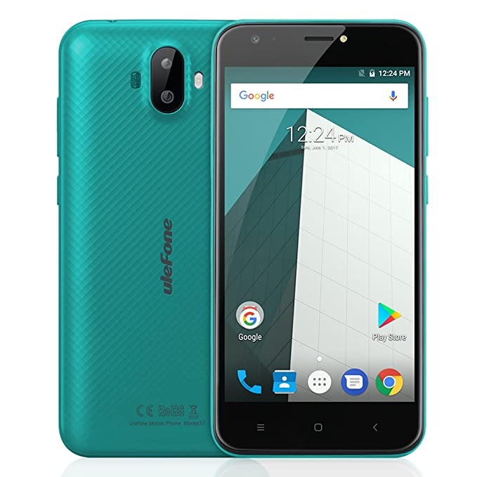 "41 opinioni per Ulefone S7 Smartphone Smartphone 3G Android 7.0 (MTK6580 Quad core 1.3GHz, 5.0"""