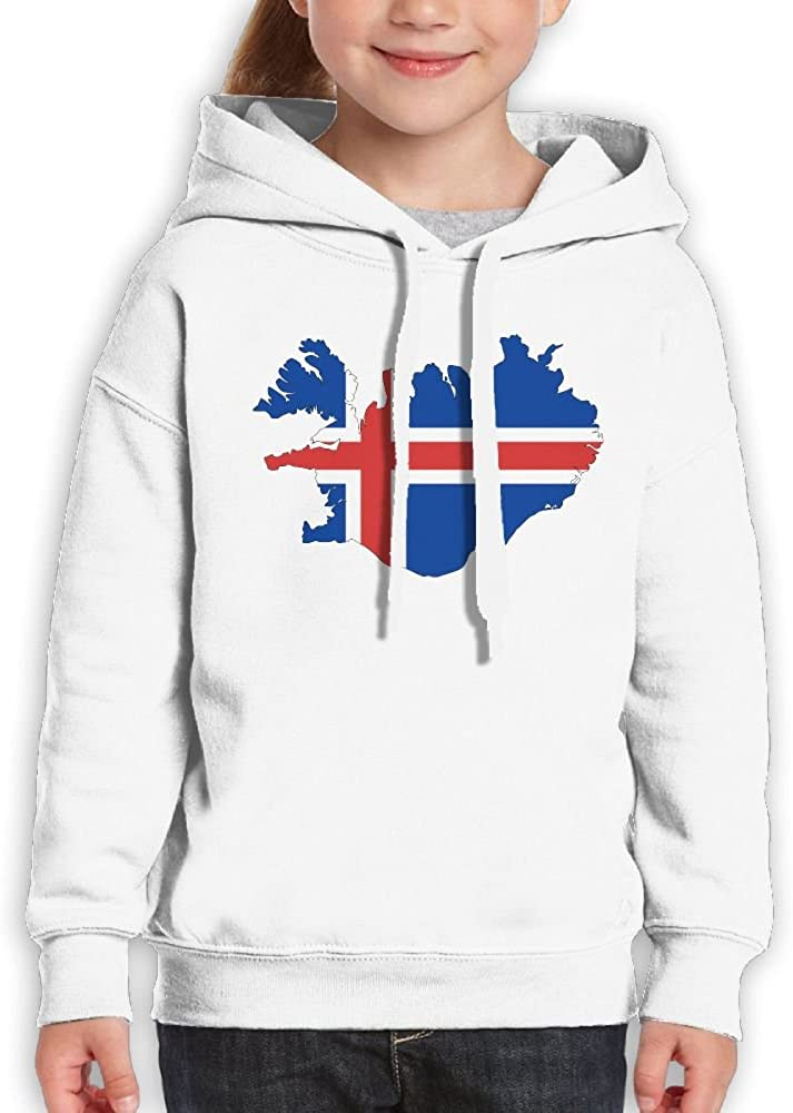 DTMN7 Iceland Unique Printed Crew-Neck Sweatshirt For Girl Spring Autumn Winter