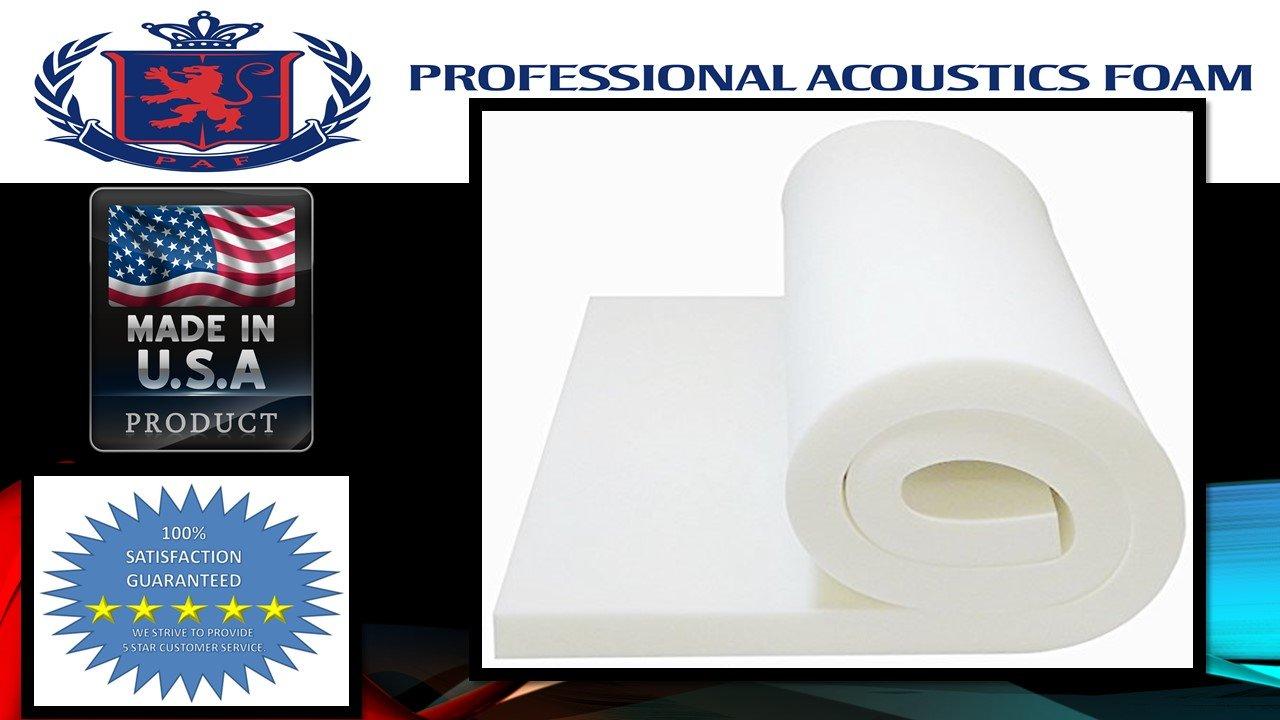 Professional 3'' X 36'' X 72'' Upholstery Foam Cushion.