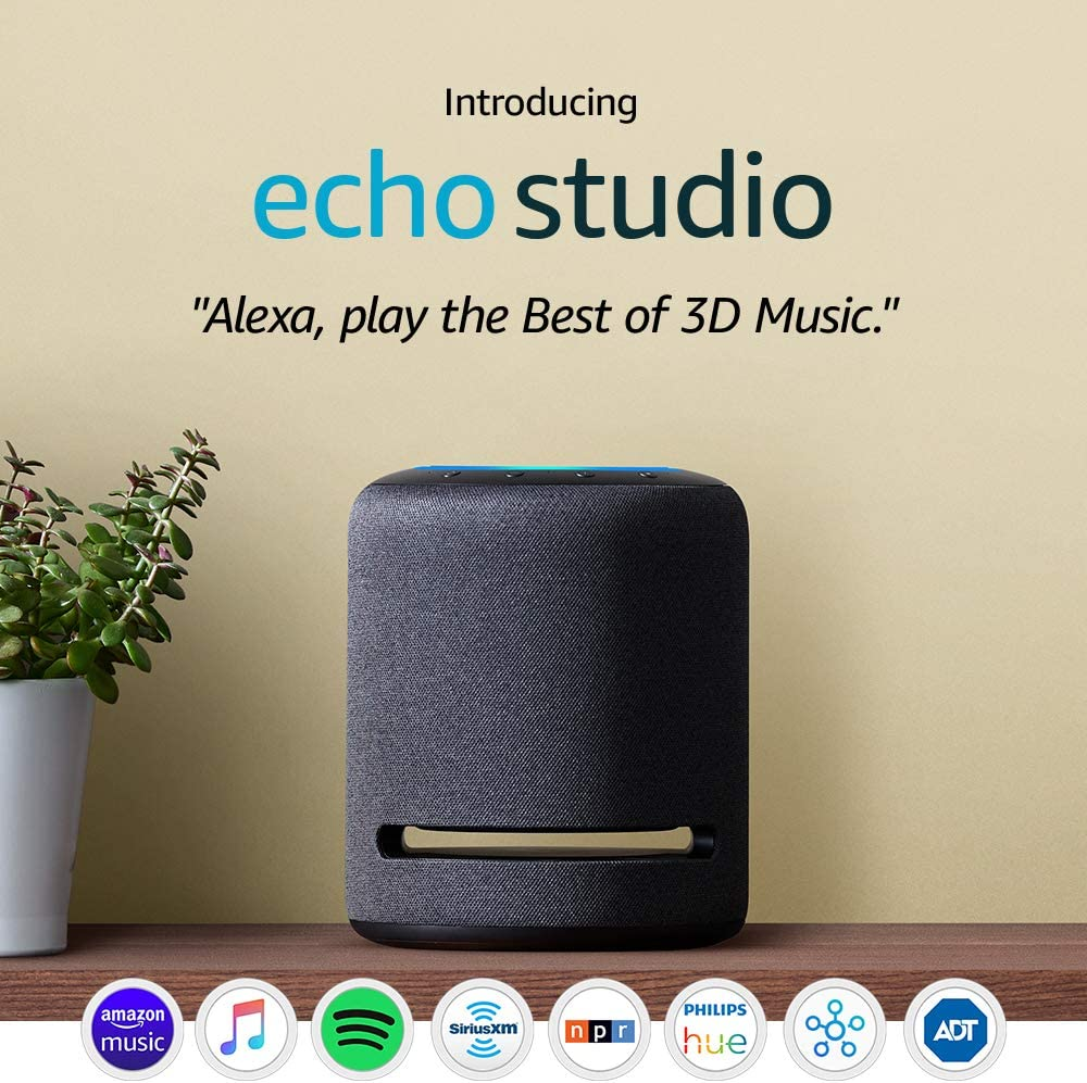 Introducing Echo Studio - High-fidelity smart speaker with 3D audio and Alexa