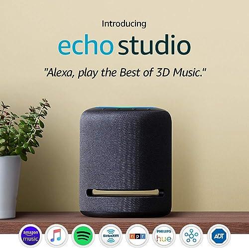 Amazon's Echo Studio