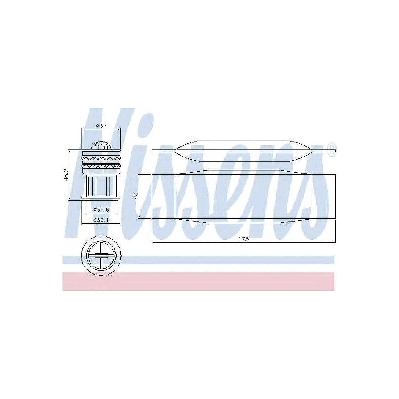 NISSENS 95490 Trockner, Klimaanlage Nissens A/S