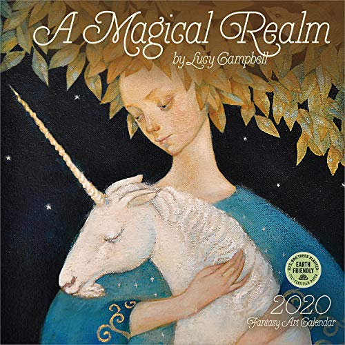 Magical Realm 2020 Wall Calendar: By Lucy Campbell por Amber Lotus Publishing
