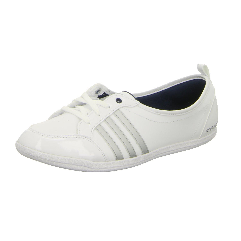 cheaper ede3a d1447 adidas Neo PIONA SELENA GOMEZ White Women Sneakers Shoes Ballerina   Amazon.co.uk  Shoes   Bags
