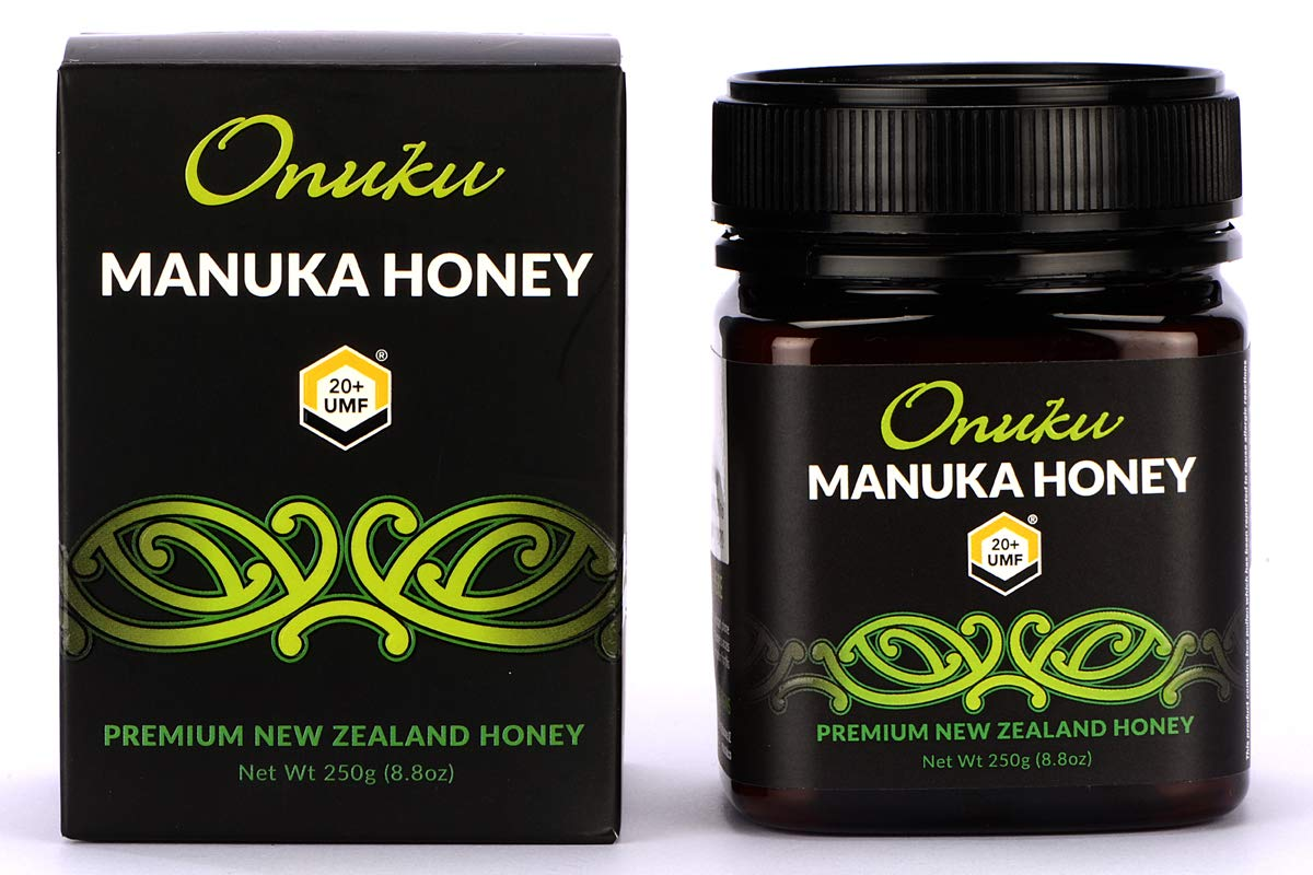 Onuku Manuka Honey Certified UMF 20+ (MGO 830+), New Zealand, 250g (8.8oz)