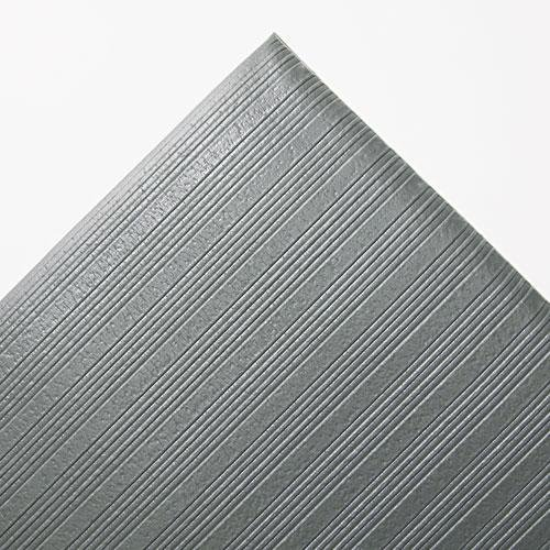 (Crown Ribbed Antifatigue Mat, Vinyl, 36 x 60, Gray (FL3660GY) by Crown Mats &)