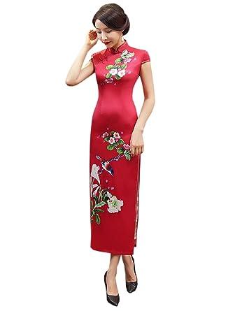 Robe de soiree chinoise
