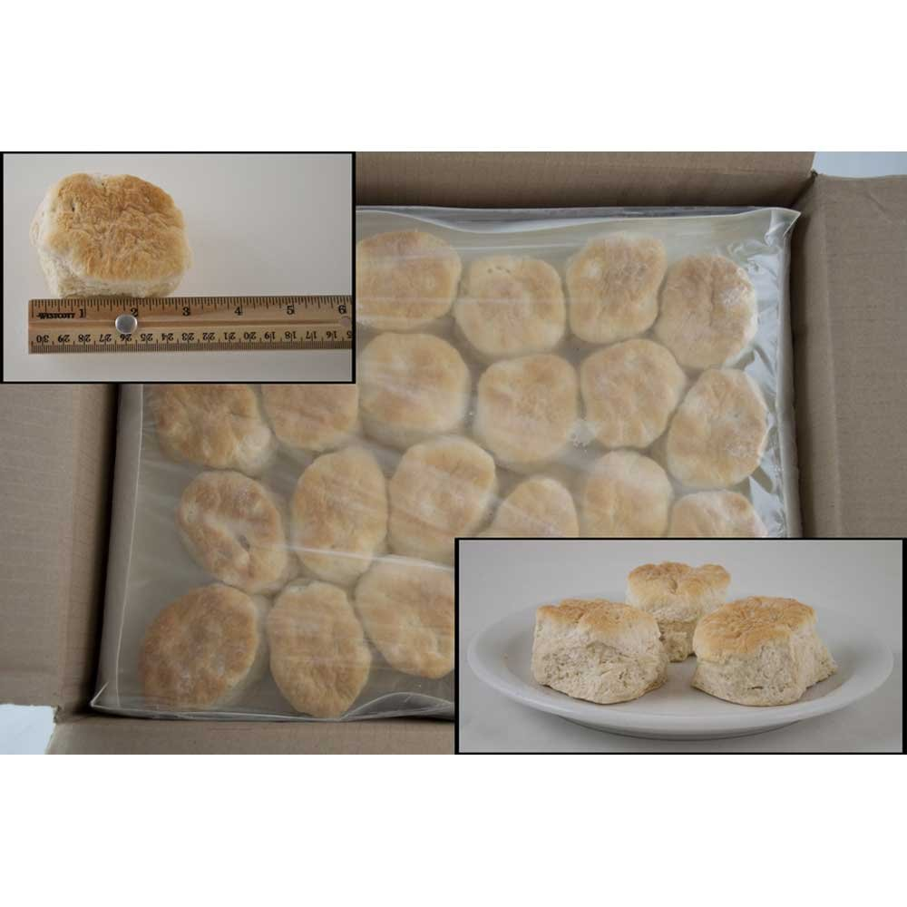 General Mills Pillsbury Baked Golden Buttermilk Biscuit, 2.25 Ounce -- 120 per case.