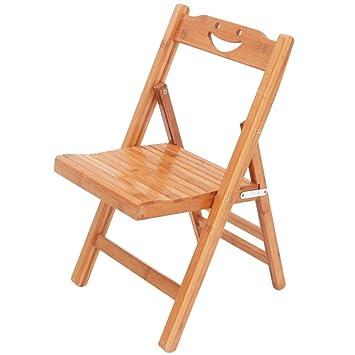 Folding Chair YAN SYF Silla Plegable Bambú Adecuado para ...