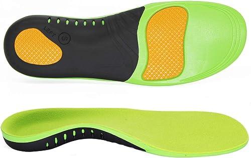 インソール 衝撃吸収 足底筋膜炎 サポーター 中敷き メンズ レディース 扁平足 矯正 3D設計 フルフットクッション なかじき 靴 メンズ スポーツインソール