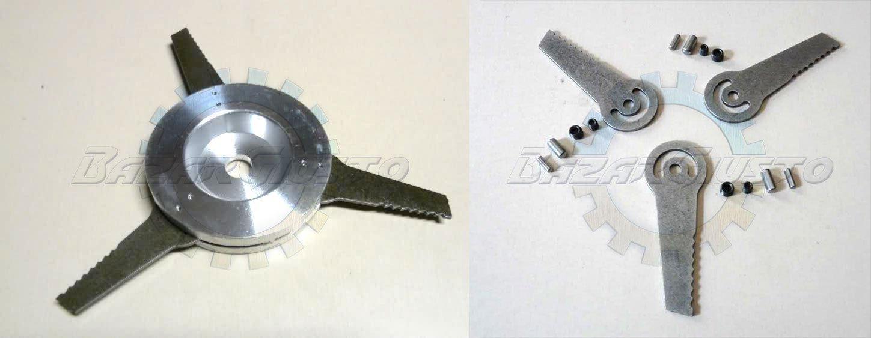 Cabezal desbrozadora Predator 3 + cuchillas Repuesto: Amazon.es ...