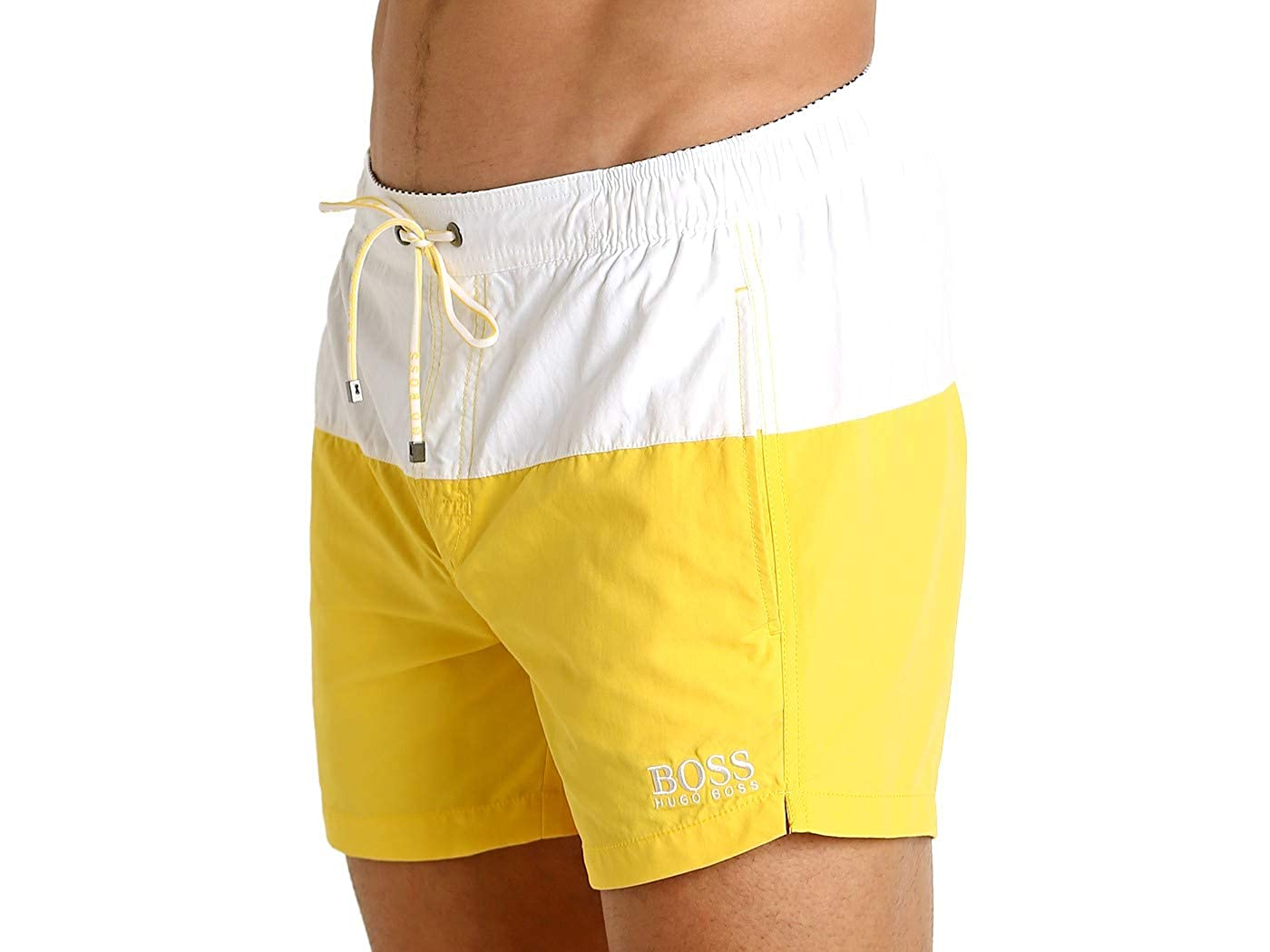 3ebbdf80a1 Amazon.com: Hugo Boss BOSS Men's Flounder Swim Trunk: Clothing