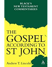 Gospel According to St John: Black's New Testament Commentaries
