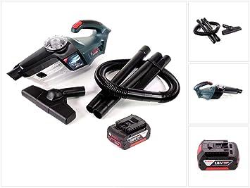 Bosch Gas 18 V de 1 Professional batería de ion de litio para aspiradora aspirador de mano + 1 x GBA 6,0 Ah Batería, Sin Cargador: Amazon.es: Bricolaje y herramientas
