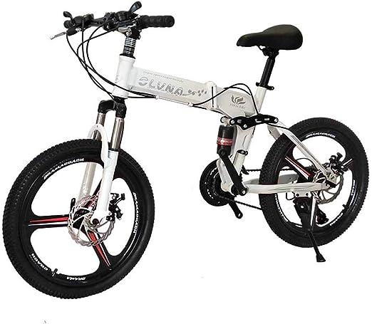 Bicicleta de montaña plegable de 20 pulgadas bicicleta de nieve ...