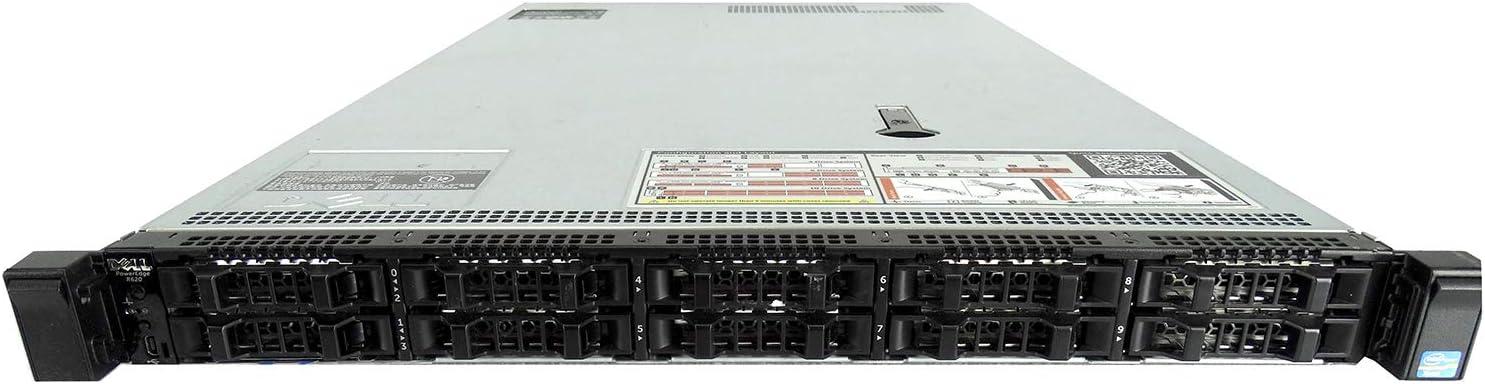 Dell PowerEdge R620 10 Bay, 2X Xeon E5-2630Lv2 12-Core 2.40 GHz, 8GB DDR3, 10x 500GB, H310, Rails