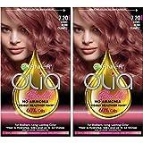 Garnier Olia Bold Ammonia Free Permanent Hair Color (Packaging May Vary), 7.20 Dark Rose Quartz, Rose Hair Dye, 2 Count