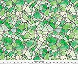 Stained Glass Fabric - Stained Glass 4 by animotaxis - Stained Glass Fabric with Spoonflower - Printed on Organic Cotton Sateen Fabric by the Yard