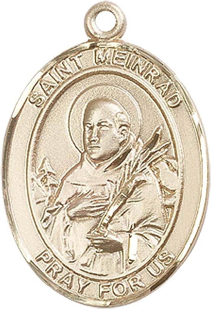 14kt Gold St Meinrad Of Einsideln Medal