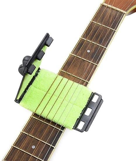 Ogquaton Limpiador de cuerdas de guitarra Herramienta de limpieza ...