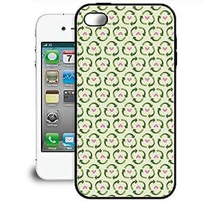 Bumper Phone Case For Apple iPhone 4/4S - Go Green Rubber Designer