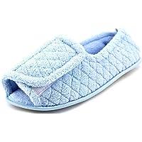 MUK LUKS Womens Adjustable Open Toe Slipper