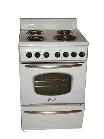 stove 24 inch electric. avanti er2401g electric range, 24-inch, white stove 24 inch 2