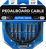 BOSS Solderless Pedalboard Cable Kit, 12 feet (BCK-12)