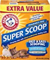 Arm & Hammer Super Scoop Clumping Litter, Fragrance Free from Church & Dwight-Grocery