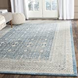 Safavieh Sofia Collection SOF376C Vintage Blue and Beige Distressed Area Rug (9′ x 12′) Review