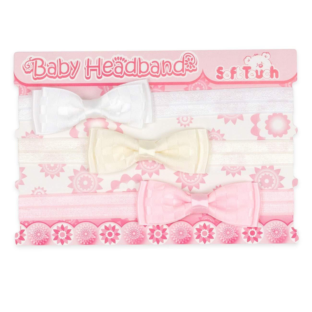 Baby Mädchen Schleife Haarband Stirnband Kopfband Bogen Haar Band Haarschmuck